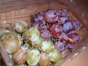 Bio-Weintrauben